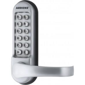 Push Button Mechanical Code Lock - Silver