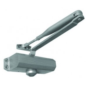 Overhead Door Closer - Silver