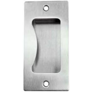 Flush Pull St Steel  100x50mm SSS