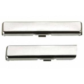 Hinge arm cover plate, nickel-plated steel
