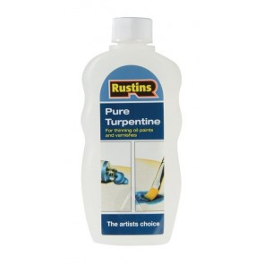 Rustins Pure Turpentine 500ml