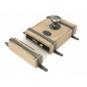 Oak Box Lock - Various Finishes