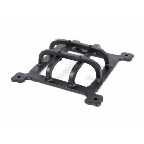 Raised Door Grill - Black