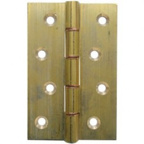 DPBW Brass Butt Hinges (pair) - Brass Self Coloured