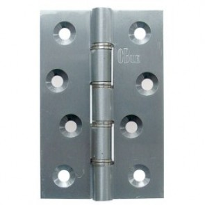 DSSW Brass Butt Hinges (pair) - Satin Chrome