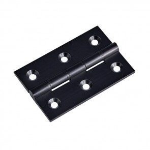 "3"" DPBW Butt Hinges (pair) - Matt Black"