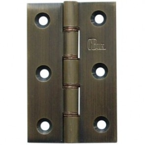 DPBW Brass Butt Hinges (pair) - Florentine Bronze