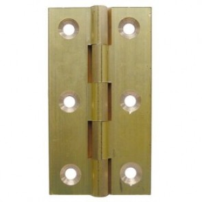 Top Quality Solid Drawn Brass Butt Hinges (pair) - Self Coloured