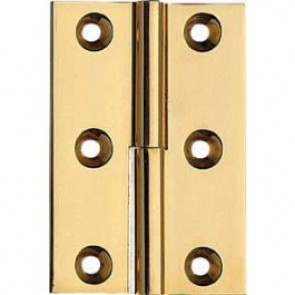 "3"" Lift Off Solid Brass Butt Hinges (pair) - Polished Brass"