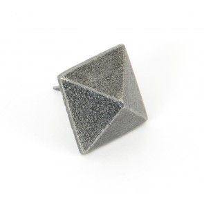 Pyramid Door Studs - Pewter - Various Sizes