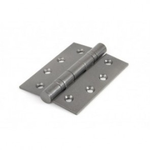 Ball Bearing SS Butt Hinges (pair) - Pewter
