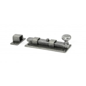 Pewter Straight Knob Bolt - Various Sizes