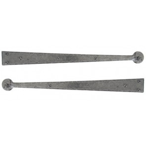 Handmade Hinge Fronts - Pewter