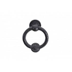 4'' Ring Door Knocker - Black