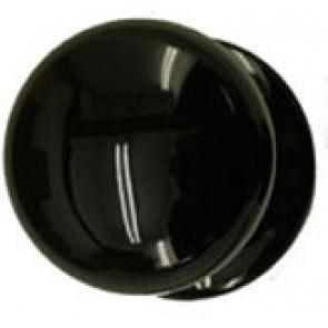 Ceramic Victorian Knob 50mm - Black