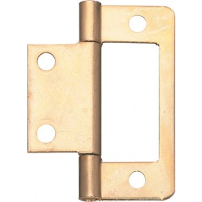 Flush hinge, 50 mm, for inset doors