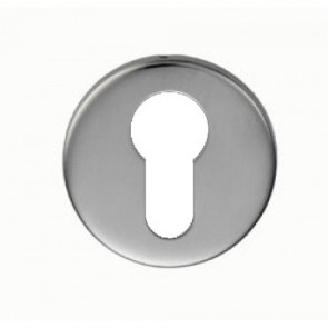 Euro Escutcheon - Satin Stainless Steel