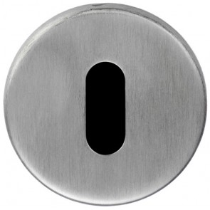 Eurospec Lock Escutcheon - Satin Stainless Steel