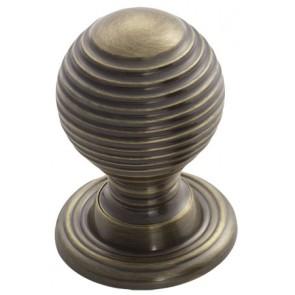 Queen Anne Cupboard Knob - Florentine Bronze