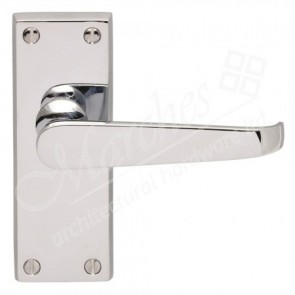 Victorian Handle Range - Polished Chrome