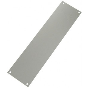 Finger Plate, 300 x 75mm - Satin Anodised Aluminium