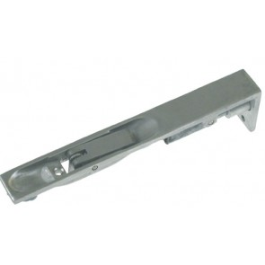 Lever Action Flush Bolts - Satin Anodized Aluminium - Various Lengths