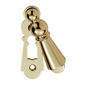 Carlisle Large Covered Escutcheon - Polished Brass