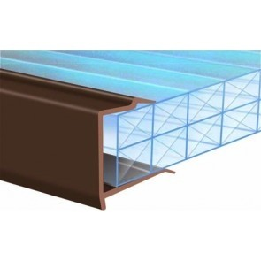 Exitex - PVC Roof End Closures Various Sizes & Finishes