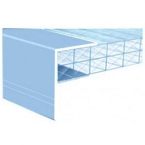 Exitex - Aluminium F-Section Aluminium Finish - Various Sizes