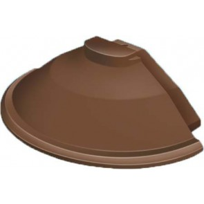 Exitex - Cresfinex Mk2 175mm Radius End Cap - Brown