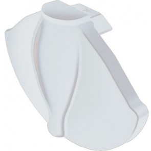 Exitex - Cresfinex Mk2 100mm/175mm Gable End Cap - White