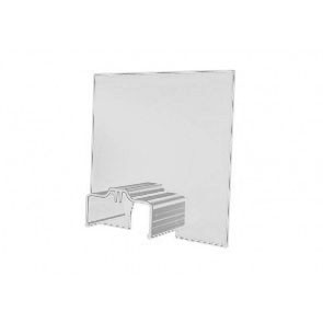 Exitex Aluminium Cresfinex M3 Wall End Cap - White