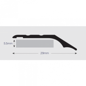 Vinyl Edge Trim Large 914mm SAA