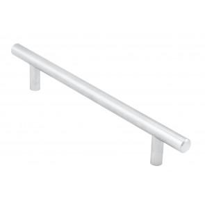 T-Bar Handle, 220mm (160mm cc) - Satin Nickel