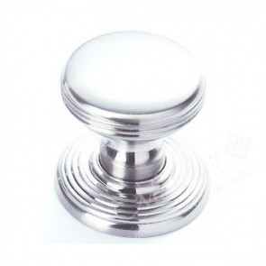 Delamain Ringed Knob - Polished Chrome