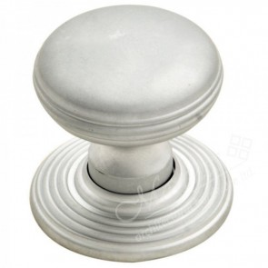 Delamain Ringed Knob - Satin Chrome