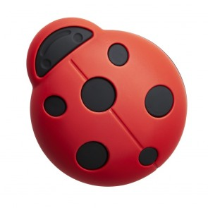 Carlisle - Cebi Joy Ladybird Knob - Red & Black