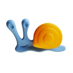 Carlisle - Cebi Joy Snail Knob - Blue & Orange