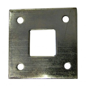 Floor Plate For Monkeytail Bolts - Galvanised