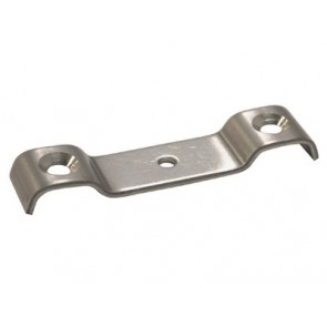 Flush Bolt Cross Strap - Stainless Steel