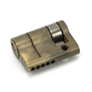 5pin Single Cylinder Aged Brass - Various Sizes