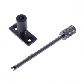 Locking Stay Pin - Black