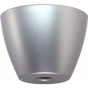 Furniture Foot Pl Silv 70x50mm