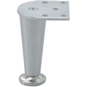 Furniture Foot 100mm Matt Nickel - (2)