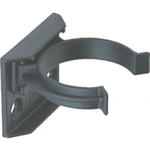 Plinth Leg Clip & Bracket (Screw fix) - Black