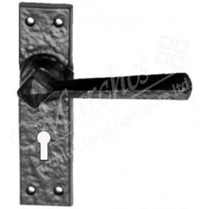 Kirkpatrick 2445 Door Handle Set - Black