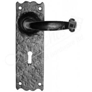 Kirkpatrick 2451 Door Handle Set - Black