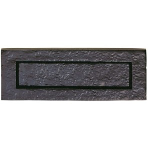 Carlisle Traditional Letter Plate - Black Antique