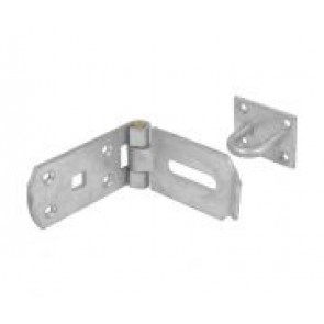 "5"" Heavy Duty Hasp & Staple Galv"