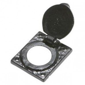 Kirkpatrick - Cylinder Latch Cover 1484 - Black